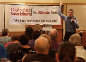 Fletcher speaking at Diabetes Smackdown 2016
